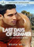 Last Days of Summer College Dudes Gone Wild Dirtyhunk Gay Sex & Erotica Anthology