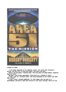 Robert Doherty - Area 51 - The Mission