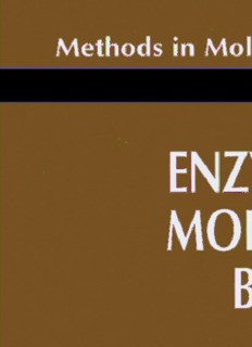 Methods in Molecular Biology • 16 Enzymes of Molecular Biology