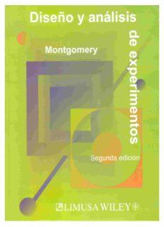 diseño de experimentos(Montgomery)