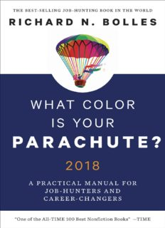 What Color Is Your Parachute: A Practical Manual for Job-Hunters and Career-Changers