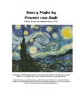 Starry Night by Vincent van Gogh - Free Cross Stitch Patterns
