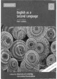 Cambridge IGCSE English as a Second Language. Coursebook