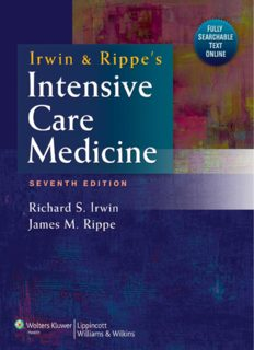 Irwin and Rippe's intensive care medicine. Part 1