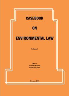 environmental law environmental law