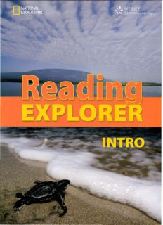 Kristin. Reading Explorer Intro