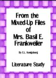 From the Mixed Up Files - of Mrs. Basil E. Frankweiler