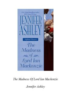 The Madness of Lord Ian Mackenzie (Berkley Sensation)