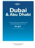 Explore Dubai & Abu Dhabi - Lonely Planet