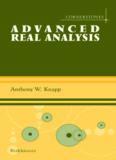Advanced Real Analysis: Along with a companion volume Basic Real Analysis