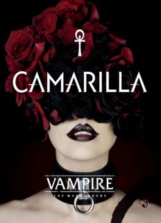 Vampire The Masquerade V5 - Camarilla