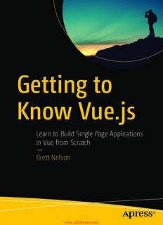 Learn to Build Single Page Applications in Vue from Scratch — Brett Nelson