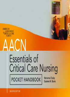 AACN Essentials of Critical-Care Nursing Pocket Handbook