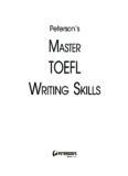TOEFL Writing - FreeExamPapers