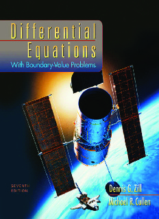 Differential Equations with Boundary-Value Problems - Instructor