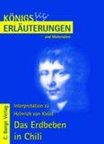 Erläuterungen zu Heinrich von Kleist: Das Erdbeben in Chili, 4. Auflage (Königs Erläuterungen und
