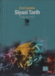 Siyasi Tarih #1 (İlkçağlardan 1918'e) - Oral Sander