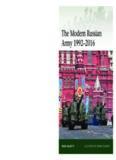 The Modern Russian Army 1992-2016 (Osprey Elite 217)