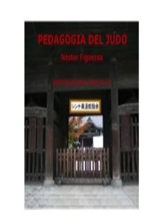 Pedagogia del Judo - Sinchijudokan Institute