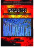 Steel Heat Treatment Handbook Metallurgy And Technologies