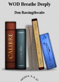 Breathe Deeply - Don Bassingthwaite