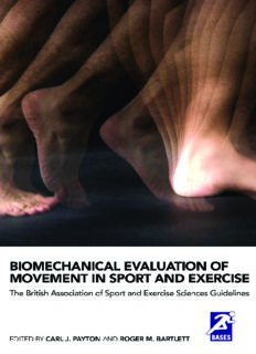 Biomechanical Evaluation of Movement in Sport and Exercise: The British Association of Sport and Exercise Sciences Guide (BASES Sport and Exercise Science)