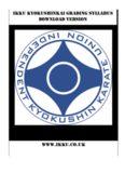 IKKU Kyokushinkai Grading Syllabus Download version