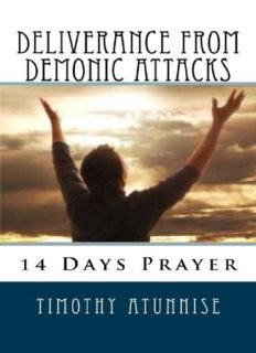 14 Days Prayer For Deliverance From Demonic Attacks