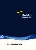 Download Welding Guide - Böhler Welding
