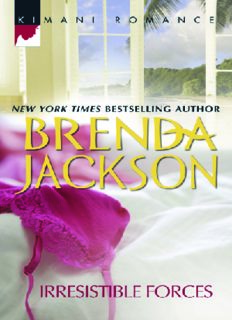 Iresistible Forces. By Brenda Jackson