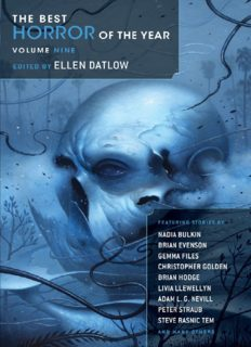 The best horror of the year. Volume 9