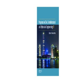 Progress in Civil, Architectural and Hydraulic Engineering IV : Proceedings of the 2015 4th International Conference on Civil, Architectural and Hydraulic Engineering (ICCAHE 2015), Guangzhou, China, June 20-21, 2015
