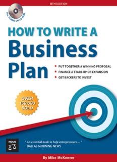How to Write a Business Plan - Kolegji Fama