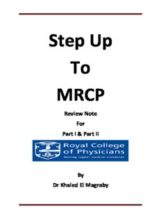 Step Up to MRCP Review Notes for Part 1 & Part 2