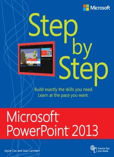 Microsoft PowerPoint 2013 Step by Step ebook - PDFiles.COM