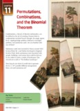 11 Permutations, Combinations, and the Binomial Theorem