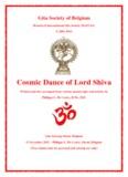 Cosmic Dance of Lord Shiva