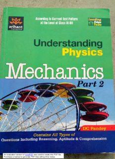 Understanding physics. Mechanics, part 2