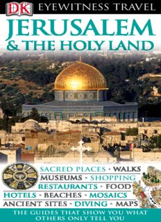 Jerusalem & the Holy Land (Eyewitness Travel Guides)