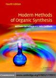 modern methods of organic synthesis