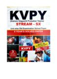 KVPY SX standard 12 Chemistry Solutions 2010-2017 8 years of past papers solved