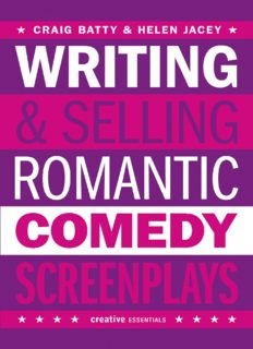 Writing & Selling Romantic Comedy Screenplays
