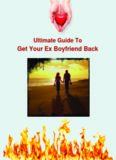 Ultimate Guide To Get Your Ex Boyfriend Back PDF EBook FREE DOWNLOAD