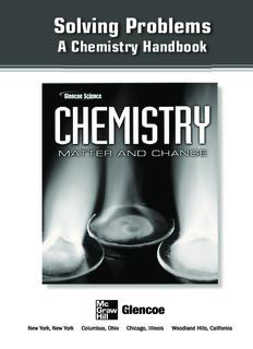 Solving Problems: A Chemistry Handbook