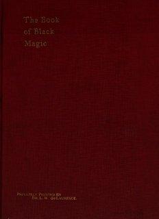 The Book Of Black Magic - Global Grey