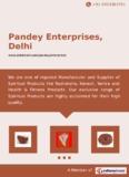 Delhi Pandey Enterprises, - IndiaMART - Indian