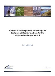 Pacific Air Report - Gunns Pulp Mill
