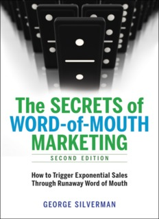Word-of-Mouth - George Silverman's Marketing Strategy Secrets