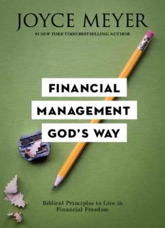 Financial Management God's Way - Joyce Meyer