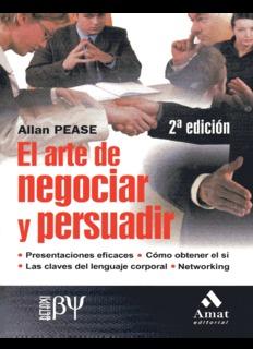 El Arte de Negociar y Persuadir (2da Edición)
